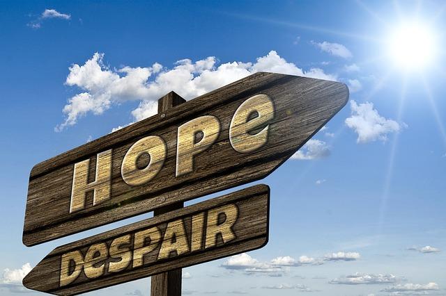 希望か失望か